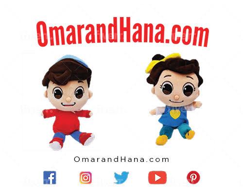 Omar and Hana YouTube Stars