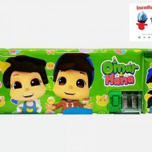 Green Omar and Hana Pencil Case