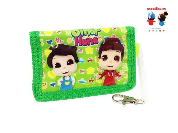 Green Omar and Hana Wallet